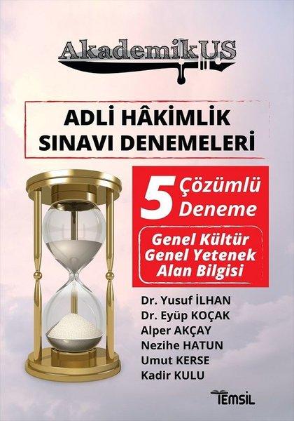 Adli Hakimlik Sınavı Denemeleri - 5 Çözümlü Deneme - Akademikus.pdf
