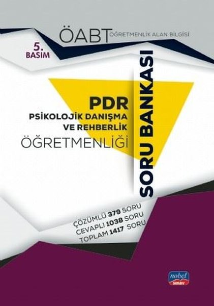 ÖABT Psikolojik Danışma Ve Rehberlik Öğretmenliği Soru Bankası.pdf