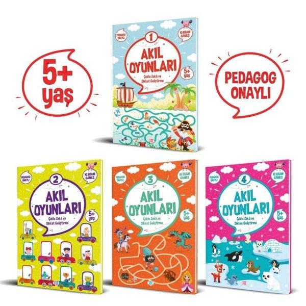 Akıl Oyunları Serisi Seti 5+ Yaş - 4 Kitap Takım.pdf