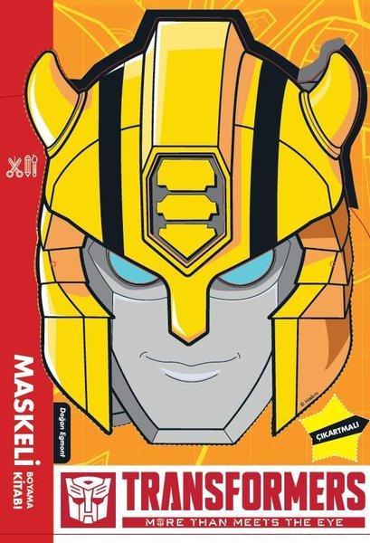Transformers - Maskeli Boyama Kitabı.pdf