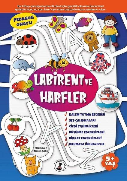Labirent ve Harfler 5+ Yaş.pdf