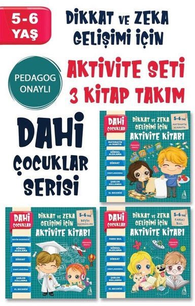 5 - 6 Yaş Dahi Çocuklar Serisi Seti - 3 Kitap Takım.pdf
