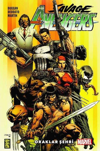 Savage Avengers 1 - Oraklar Şehri.pdf
