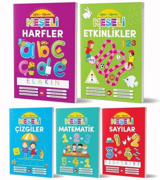 Okul Öncesi Eğitici Öğretici Neşeli Etkinlikler Seti - 5 Kitap Takım.pdf