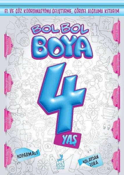 Bol Bol Boya 4 Yaş - Boyama Kitabı.pdf