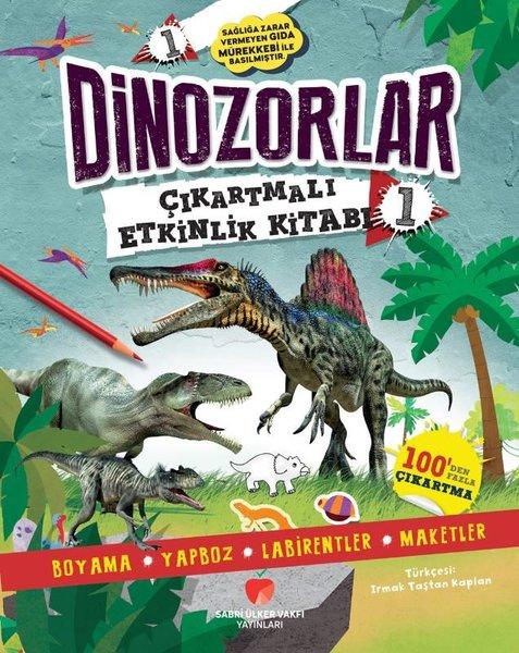 Dinozorlar Çıkartmalı Etkinlik Kitabı - 1.pdf