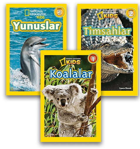 National Geographic Kids Kitapları