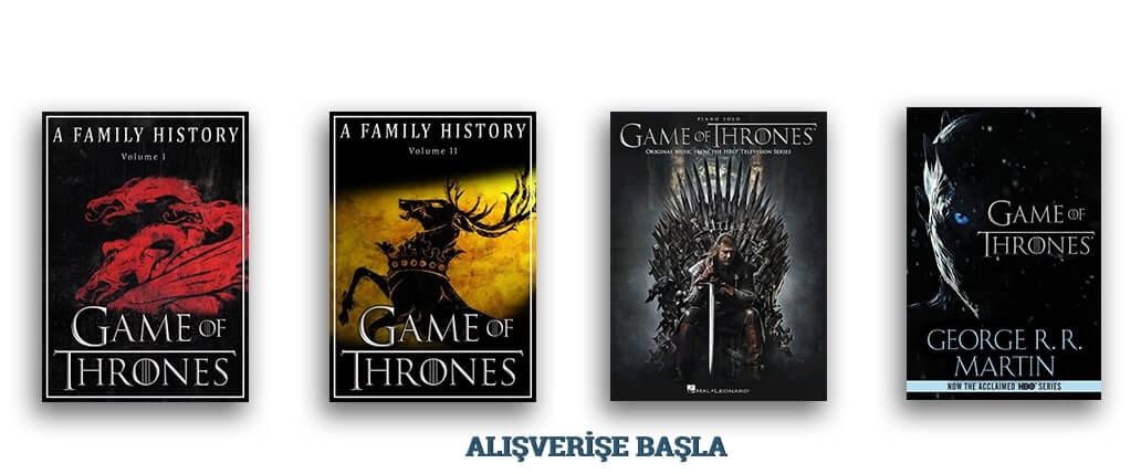 Game of Thrones e-kitapları